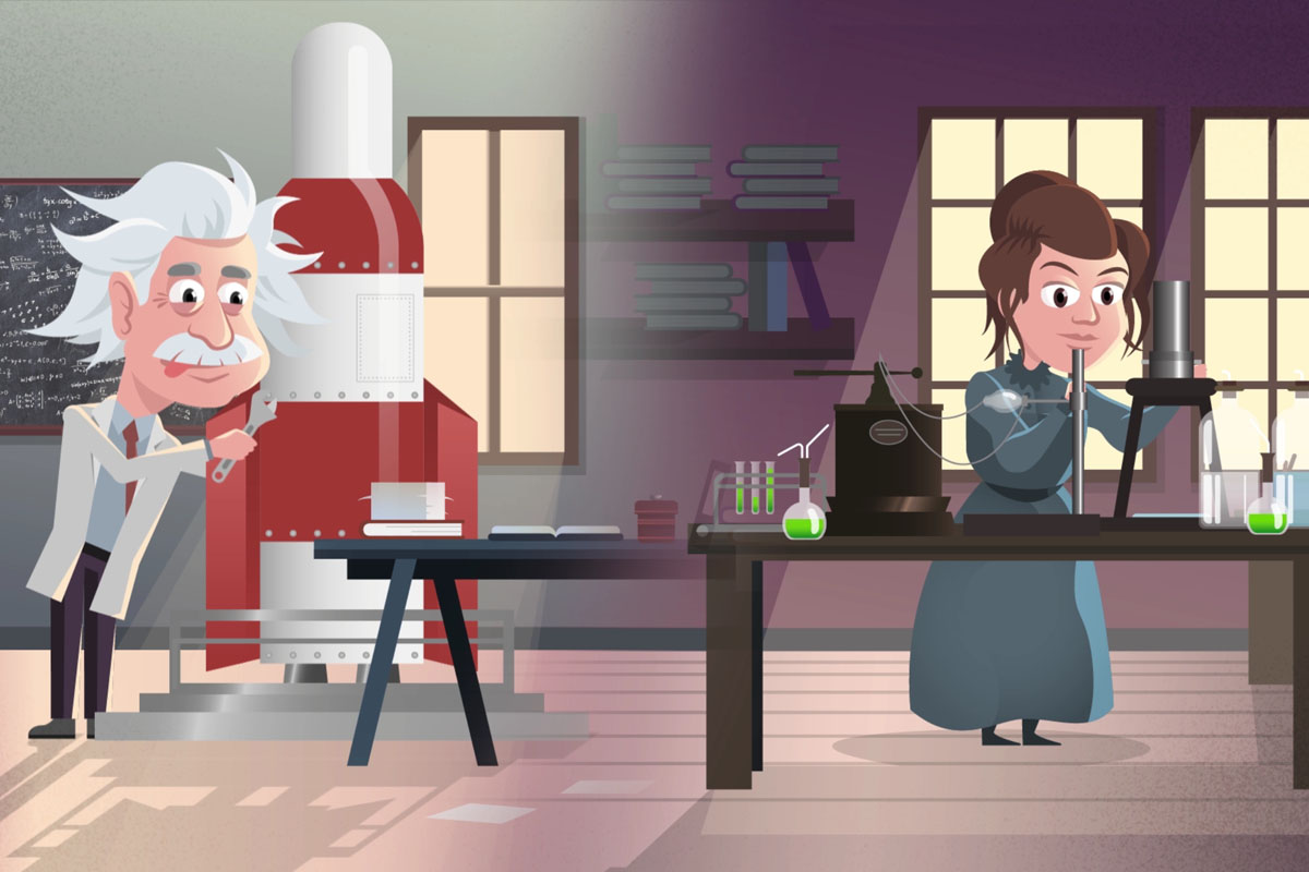 Animation video science communication